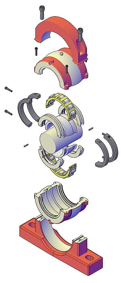 Craft Bearing Split Roller Bearings